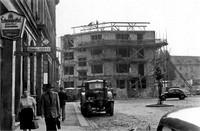 Der Ägidienmarkt 1956: Wiederaufbau der Schlosserei Otto Turnier