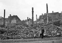 Die Auguststraße nach dem 15. Oktober 1944