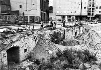 Die Auguststraße 1959: Kellergewölbe vor Straßenverbreiterung
