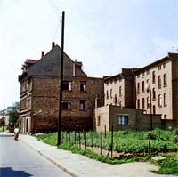 Die Friesenstraße 1970: Nr. 11 - 13, aus nördlicher Richtung
