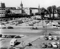 1959: Karrenführer Platz von Süden