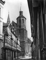 1935: Blick von der Magnikirchstraße
