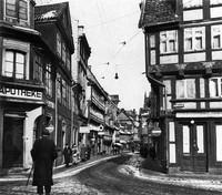 1938: Stobenstraße, Ansicht vom Ägidienmarkt