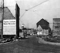 1949: Stobenstraße, Ansicht vom Ägidienmarkt