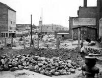 1955: Zweite Verbreiterung der Stobenstraße