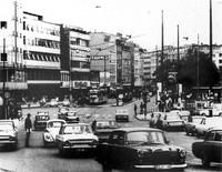 1967: Die Stobenstraße in der Hauptverkehrszeit