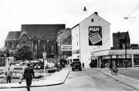 1952: Die Stobenstraße von der Ecke Langedammstraße nach Süden gesehen