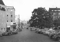 1959: Ägidienmarkt, Blick in Stobenstraße und Bohlweg