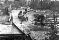 1947: Damm, Blick zum Bohlweg, Langedammstraße, Ölschlägern und Karrenführerstraße