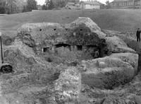 Windmühlenberg, nach seiner Abtragung im Mai 1960
