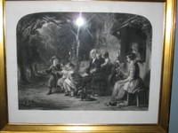 Painted by MARSHALL , Engraved by ROBI MITCHELL , Okt. 1856 , Age and Infaney , Grösse : 80x90 cm ,  Radierung ,€ 245,-  VERKAUFT