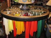 Peitschenkerzen auch in ca. 45 verschiedenen Farben und vier unterschiedlichen Längen