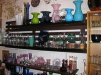 Glaswaren von verschiedenen dänischen Glasbläsern