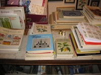 Ausser Büchern mit Stickvorlagen haben wir zahlreiche Einzel-Stickvorlagen vorrätig