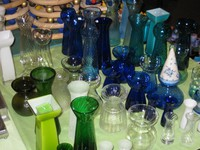 Reichhaltige Auswahl an Krokus- und Hyazinthengläser vorrätig in vielen Farben und Formen