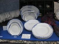 von Versteigerungen aus Kopenhagen:   BLAA OLGA    (blaue Olga) Fajance-Porzellan von