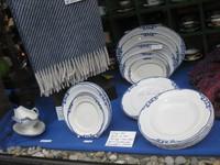 Dieses Geschirr war sehr üblich auf jütländischen Bauernhöfen und war eine Alternative zu dem feinen Kopenhagener Geschirr