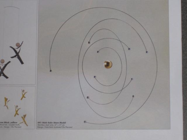 relativ neu:  Niels Bohr Atom Modell