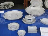 Sehr viele gleiche Stücke -z.B. Teller in verschiedenen Größen - Suppenteller in 2 verschiedenen Größen