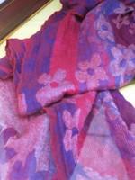 100% reine ,sehr feine, Schurwolle Stola / Schal viele Farben und Muster vorrätig