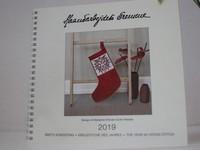 Der neue Jahreskalender 2019        Design: Marianne Eriksen Scott-Hansen
