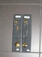 2 neue Halter für den Weihnachtsbaum Messing, vergoldet , je € 23,-