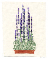 hempel-7-lavendel grösse : 9x20cm , stickpackung € 14,-
