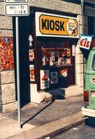 Der erste Magni-Kiosk in der Ritterstraße Ecke Schloßstraße (1978 - 1981 (bis 1983 Spätschicht-Filiale))