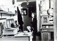 Jutta Baumbach in den 1970ern (Am Magnitor)