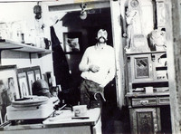 Sepp Baumbach in den 1970ern (Am Magnitor)