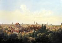 Blick vom Windmühlenberg, Mitte 19. Jahrhundert
