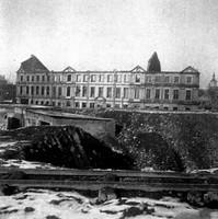Finanzamt Auguststrasse nach dem Kriege