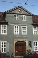 Handelshaus am Magnitorwall 1983 (ehem. Matratzenfrabik Hermann Koch)