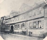 Der Ölschlägern in Höhe der heutigen Schloßstrasse von 1904 (?)