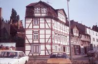 Blick in den Klint, Ecke Ritterstraße 1976