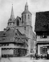 Die Magnikirchstrasse 1894, Blick vom Ackerhof