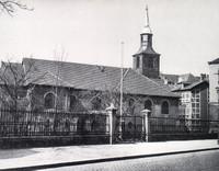 Die Nicolaikirche am Sandweg (Magnitorwall) vor der Zerstörung 1944