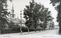 Nicolaikirche und Sandweg (später Magnitorwall)