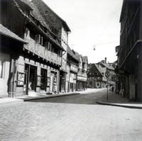 Der östl. Ölschlägern Ecke Schlosstrasse etwa 1963