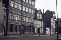 Ritterstraße 1976, aus der Schloßstraße.