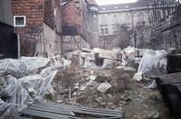 Ritterstraße 25 1976, Trümmer vom Schloß (Ackerhofportal).
