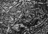 Luftbild Baustelle Windmühlenberg 1959