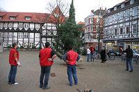 Titelbild des Albums: Baumaufstellen Kirchplatz 2006