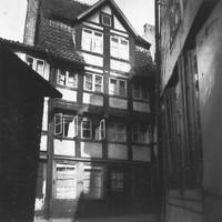 Ritterstrasse 15, vom Klint aus. Quelle: Landesamt für Denkmalpflege Niedersachsen