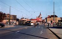 1954: Blick vom Waisenhausdamm