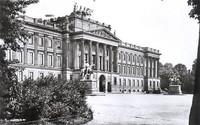 Das Residenzschloss 1936: Ansicht von Nordwesten