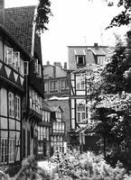 Blick vom Kirchplatz Richtung Ölschlägern und Ritterstrasse 1975