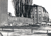 Kuhstrasse um 1976, Blick Richtung Auguststrasse (heute Nowo-Immobilien)