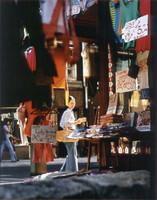 Sommerschlussverkauf bei Lütgeharm Ölschlägern, Ecke Kirchplatz 1975